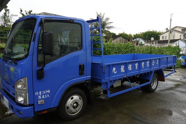 ISUZU 一路發 3.5噸 14呎 家具斗貨車 五期環保