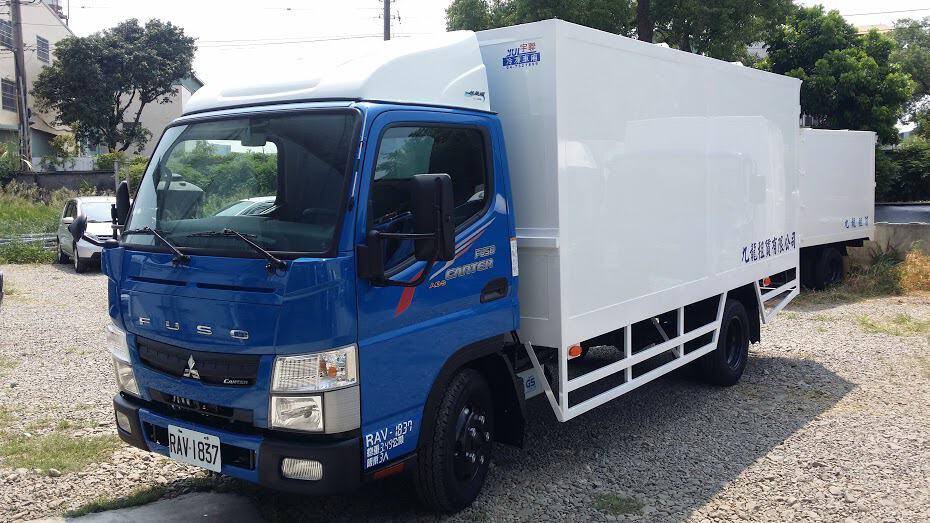 Mitsubishi 新堅達 3.5噸 14呎底盤車附加廂式