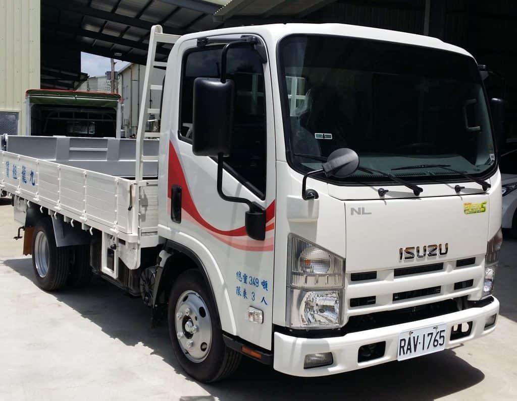 ISUZU 一路發 3.5噸 11.5呎 框式貨車附加昇降尾翼