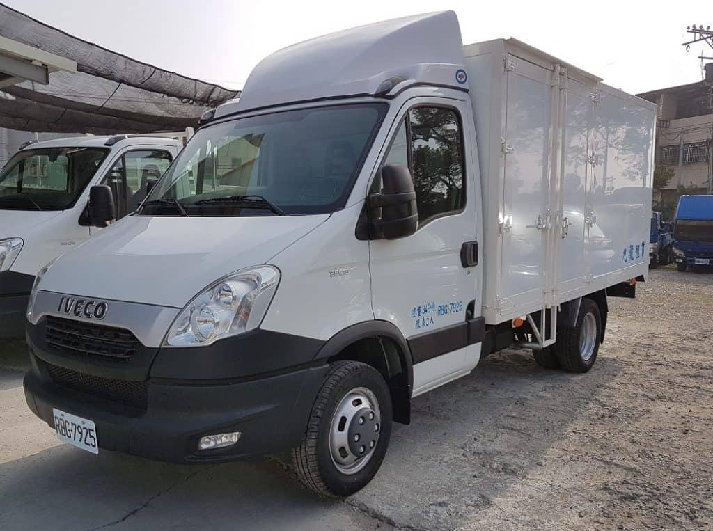 IVECO 3.5噸 12.5呎 廂式貨車