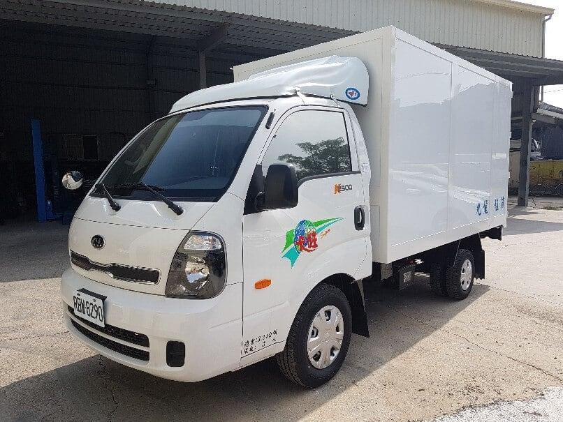 KIA 新卡旺 3.25噸 10.3呎 廂式貨車