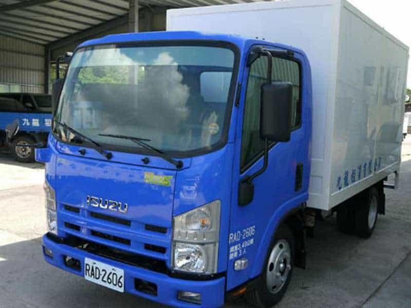 ISUZU 一路發 3.5噸 11.5呎 FRP箱車